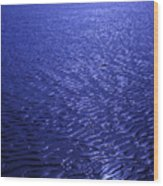 The Deep Purple Wood Print