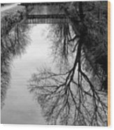 The Delaware And Raritan Canal Wood Print
