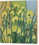 The Delightful Garden Wood Print