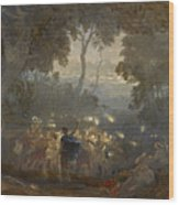 The Dell Of Comus Wood Print