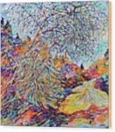 The Dendritic Tree Wood Print