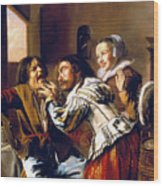 The Dentist, 1629 Wood Print