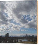 The Denver Sky Wood Print