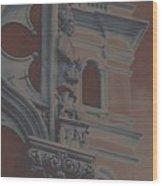 The Depression Wood Print