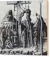 The Descent From The Cross 1475 Wood Print