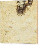 The Desert Wanderer Wood Print
