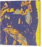 The Devil Behind St. Steven Wood Print