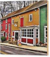 The Diamondback Tavern Of Ellicott City Wood Print