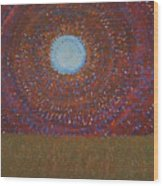 The Difficulty Of Crossing A Field Original Painting Wood Print