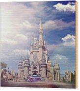 The Disney Rush Wood Print