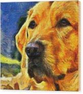 The Dog Wood Print