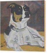 The Dog Yo Wood Print