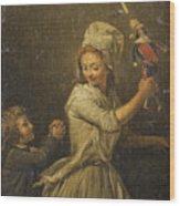 The Doll Wood Print