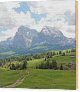 The Dolomites, Italy Wood Print