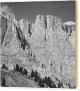 The Dolomites Wood Print