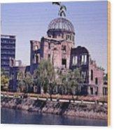 The Dome In Hiroshima Wood Print