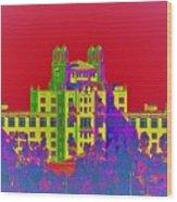 The Don Art Deco Wood Print