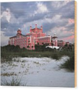 The Don Cesar Wood Print
