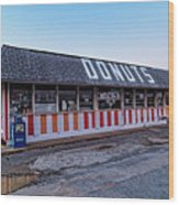 The Donut Shop No Longer 2, Niceville, Florida Wood Print