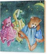 The Doo Doo Bears Wood Print