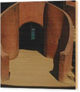 The Door Of No Return On Goree Island Wood Print