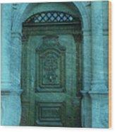 The Door To The Secret Wood Print by Susanne Van Hulst