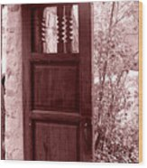 The Door Wood Print