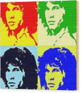 The Doors And Jimmy Wood Print
