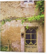 The Doorway To Provence Wood Print
