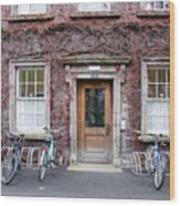 The Dorms At Trinity College Dublin Ireland Wood Print