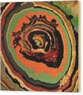 The Dragons Eye Wood Print