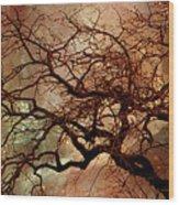The Dream Oak Triptych Left Panel Wood Print