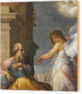 The Dream Of Saint Joseph Wood Print