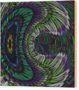 The Dreaming Eye Wood Print