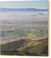 The Dreamy San Bernardino Wood Print