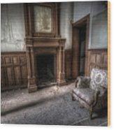 The Duchess Chair  Wood Print