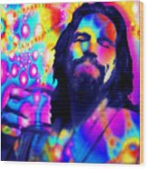 The Dude The Big Lebowski Jeff Bridges Wood Print