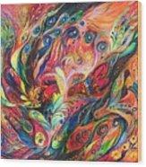 The Duel Wood Print by Elena Kotliarker