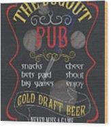 The Dugout Pub Wood Print