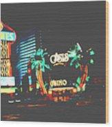 The Dunes Casino Wood Print