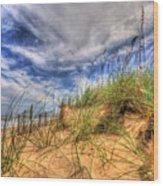 The Dunes Wood Print