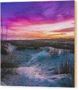 The Dunes On St Simons Island Wood Print