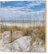 The Dunes Special Wood Print