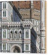 The Duomo Detail Wood Print