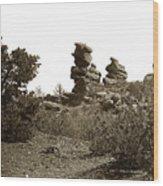 The Dutchmangarden Of The Gods, Colorado Wood Print