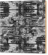 The Dwellings Wood Print