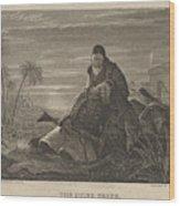 The Dying Greek Wood Print