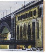 The Eads Bridge Wood Print