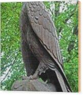 The Eagle 2 Wood Print