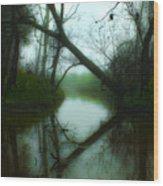 If A Tree Falls Wood Print